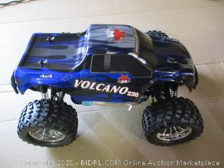 Redcat Racing Nitro 2.4GHz Volcano S30 Truck, 1/10 Scale, Blue/Silver ($239 Retail)