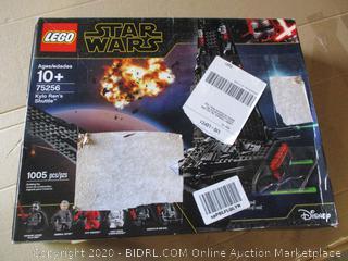LEGO Star Wars: The Rise of Skywalker Kylo Ren's Shuttle 75256 Star Wars Shuttle Action Figure Building Kit