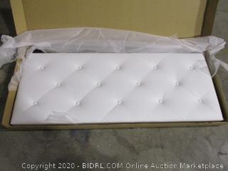 Baxton Studio White Full Headboard