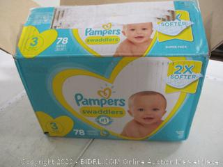 Pampers- Swaddlers- Size 3 (78 Ct Box)