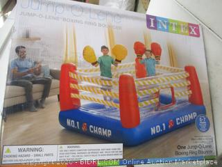 Intex- One Jump O Lene- Boxing Ring Bouncer ( missing parts)
