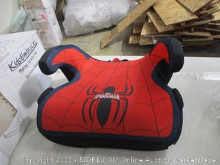 KidsEmbrace- Backless Booster Car Seat- Ultimate Spiderman