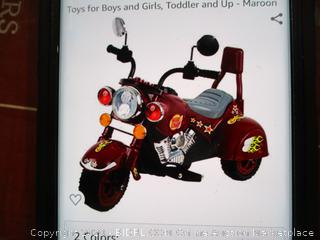 Ride on Toy, 3 Wheel Trike Chopper Motorcycle for Kids by Lil' Rider ($99 Retail)