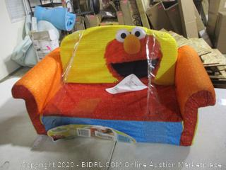 Marshmellow Furniture-Sesame Street- Childrens 2 in 1 Flip Open Sofa