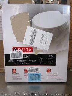 Delta toilet seat