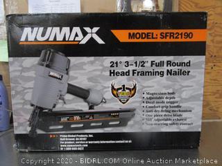 Numax Full Round Head Framing Nailer