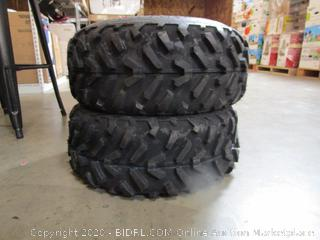 Pair of High Tread Tires