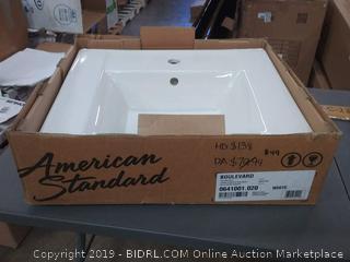 "American Standard 0641.001.020 Boulevard 5"" Pedestal Sink Basin"
