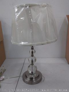 Silver/White lamp