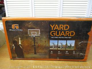 Goalrilla Basketball Yard Guard Easy Fold Defensive Net System Quickly Installs (Retail $230)