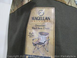 Magellan Oversized Hard Arm Chair