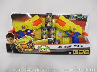 X-Shot 2X Reflex 6