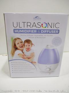 Ultrasonic Humidifier & Difuser
