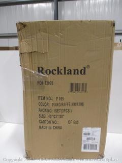 Rockland Pink Giraffe Luggage