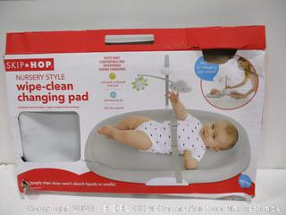Wipe Clean Changing Pad