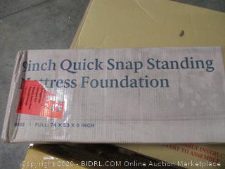 "Zinus 9"" Quick Snap Standing Mattress Foundation"