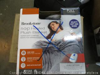 Full nap Heated Plush Blanket