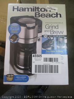 Hamilton Beach Grind and Brew