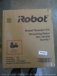 iRobot roomba 675 Vacuuming Robot