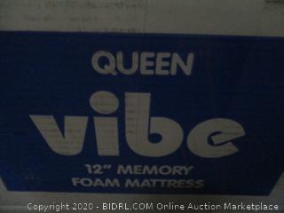 "Vibem Queen 12"" Memory Foam Mattress"