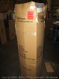 Classic Brands 10.5 Cool Gel Mattress Queen