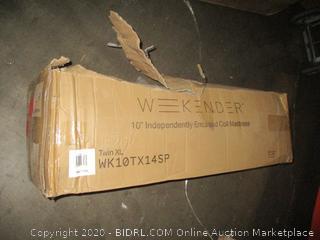"Weekender 10"" Independently Encased Coil Mattress"