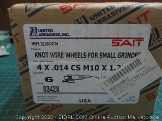 Knot Wire Wheels for Small grinder