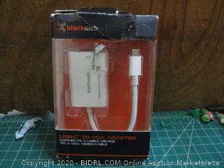 USB-C to VGA Adapter