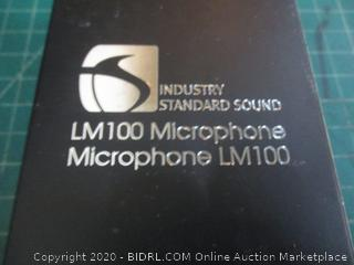 Industry Standard Sound LM100 Microphone  factory sealed