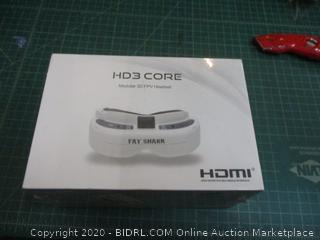 HD3 Core Modular 3D FPV Headset  factory sealed