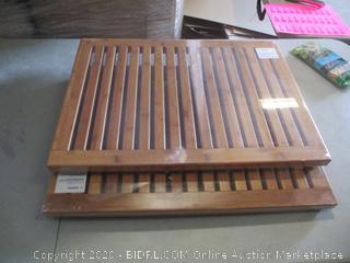 Bamboo Shower Mat