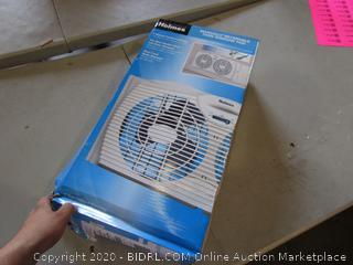 Reversible Twin Window Fan (Sealed) (Box Damaged)