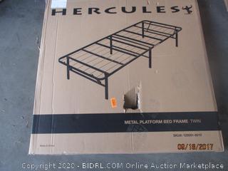 Metal Platform Bed Frame Size Twin
