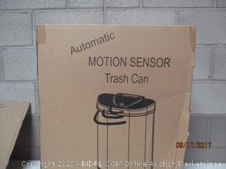 Motion Sensor Trash Can (Dented) (Please Preview)