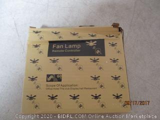Fan Lamp Remote Controller