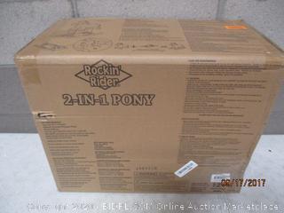 Rock' Rider 2-in-1 Pony