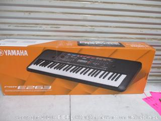 Yamaha E263 Keyboard (Please Preview)