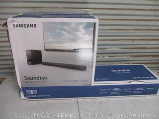 Samsung Soundbar (Box Damage)