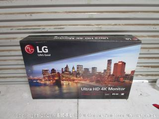 LG Ultra HD 4K Monitor (Please Preview)