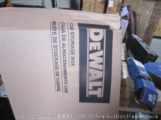 DeWalt CAB Storage Box