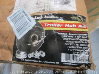 Trailer Hub Kit (Box Damage)