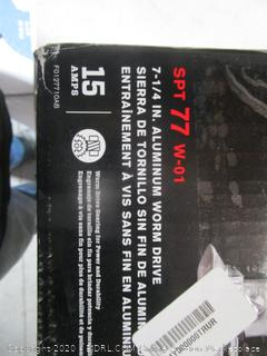 Skilsaw 7-1/4 in. Aluminum Worm Drive (Box Damage)