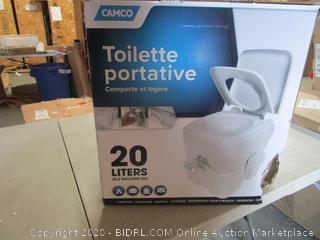Portable Toilet 5.3 Gallon Capacity