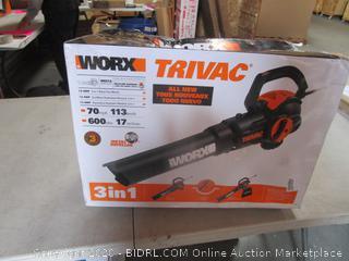 WORX 3-in-1 Blow/Vac/Mulch