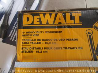 "DeWalt 6"" Heavy Duty Workshop Bench Vise"