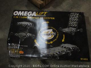 Omega Lift 3 i 1 Low Profile Z Creeper