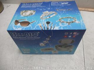 Isonic Digital Ultrasonic Jewelry Cleaner