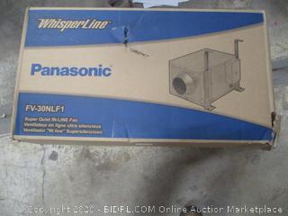 Panasonic whisper Line In Line fan