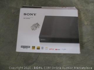 Sony Ultra HD Blu-ray /DVD Player  damaged
