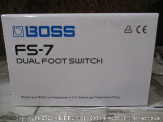 BOSS Dual Foot Switch new
